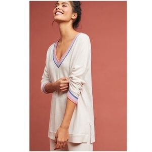 Anthropologie Saturday Sunday CloudFleece Tunic
